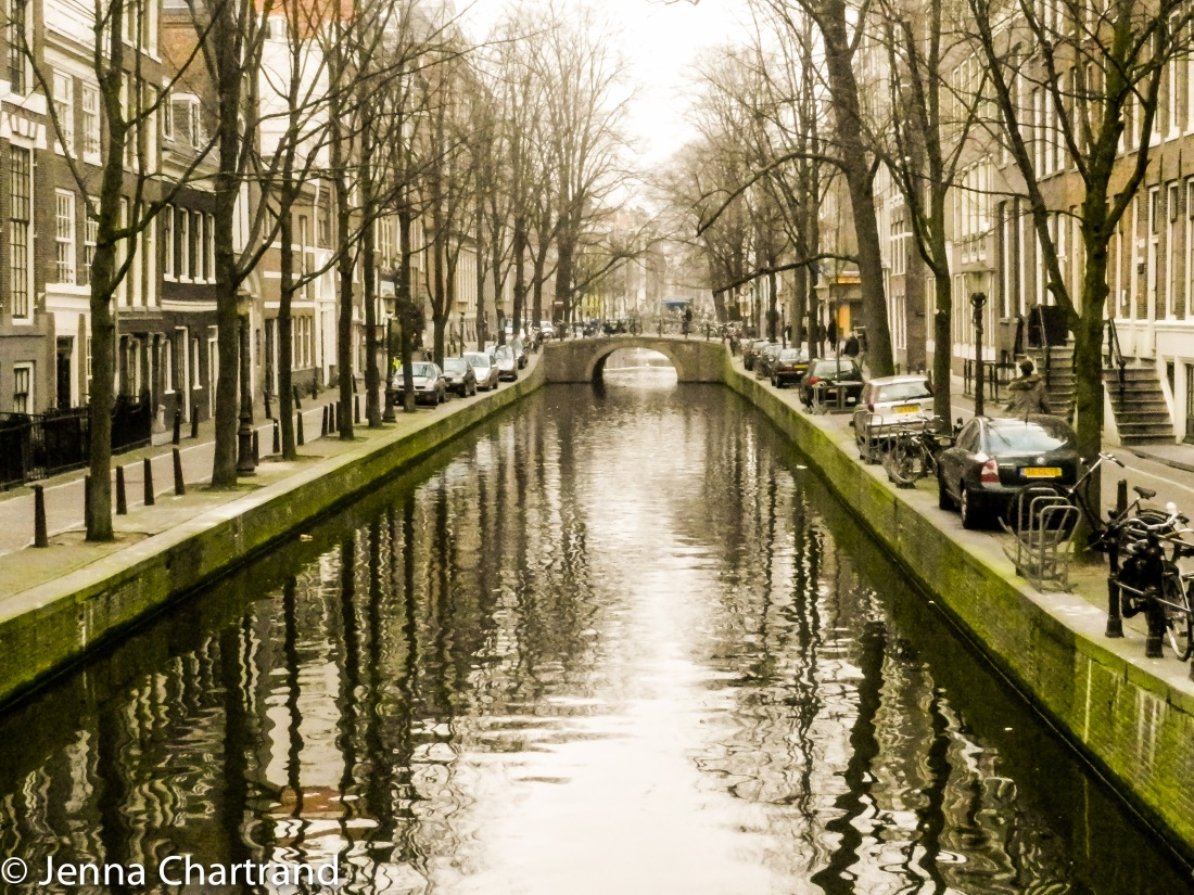 Beautiful Canal and Bridge in Amsterdam. Hands down one of my favourite cities in the world.