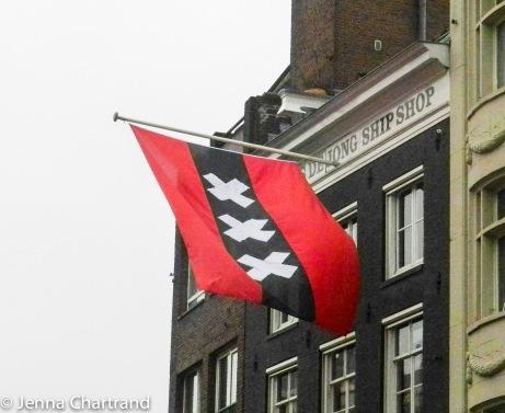 Amsterdam - Flag-2483