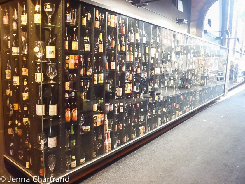 Beer Wall, Brugge, Belgium