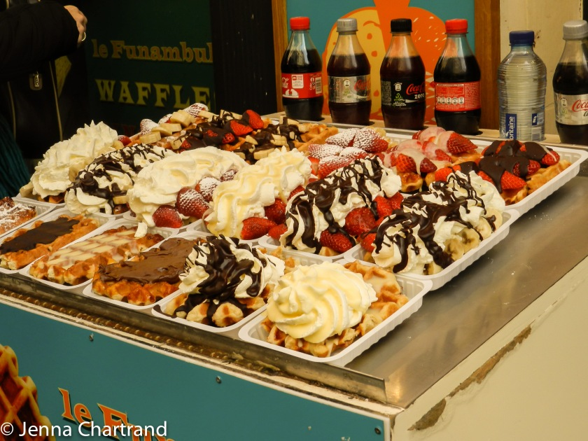 Look at all the different waffles!