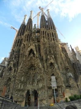 Sagrada de Familia, Barcelona, Spain