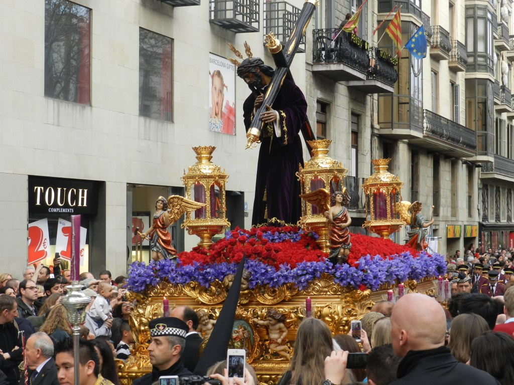 Christ our Saviour, Easter Day Parade, Barcelona, Spain