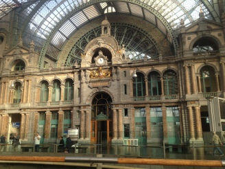 Antwerpen Station, one of the most beautiful train stations in Europe