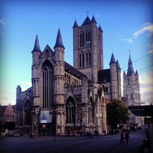 the Ghent Cathedral
