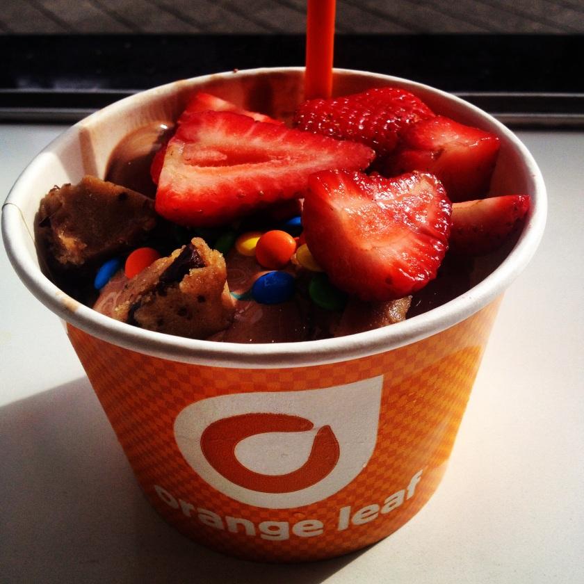 I've eaten a lot for frozen yogurt...